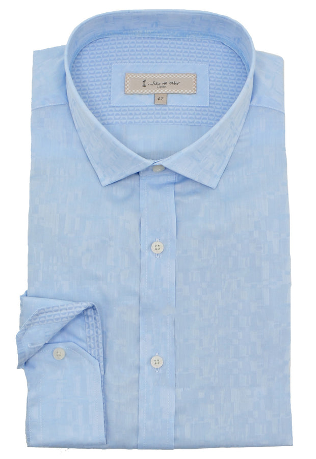 1...LIKE NO OTHER Illusion Dress Shirt