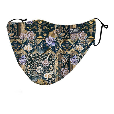 Baroque Floral printed mask
