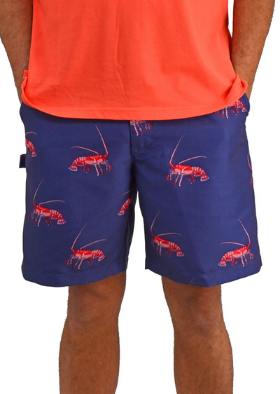Bermuda Styles Short with allover Lobster
