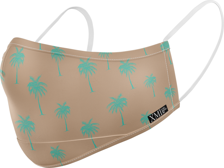 Palm Tree printed mask