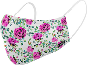 Rose Floral printed mask