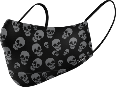 Skull allover printed N95 Styled mask