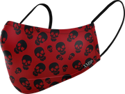 Skull allover printed mask