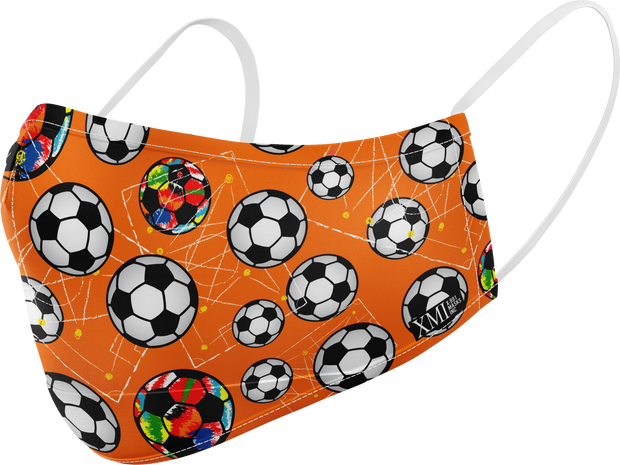 Soccer printed mask for Kids