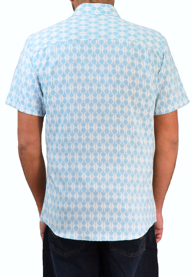 Save the Ocean Stingray Short Sleeve Casual Shirt