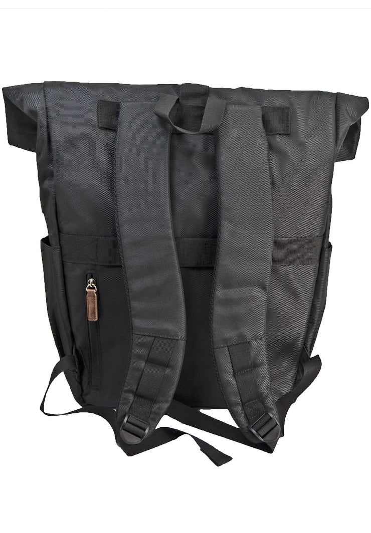Save the Ocean Backpack with Fold over top