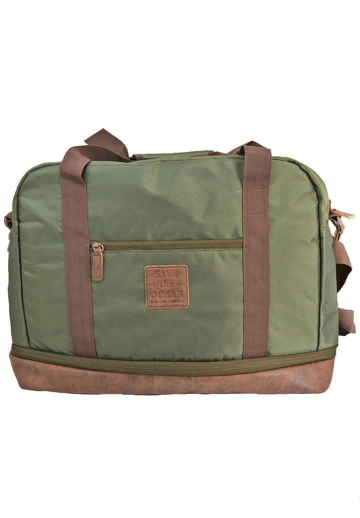 Save the Ocean Recycled Duffel Bag