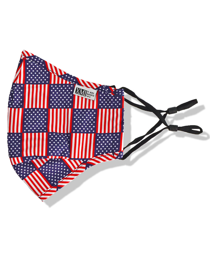 Flag Printed Mask