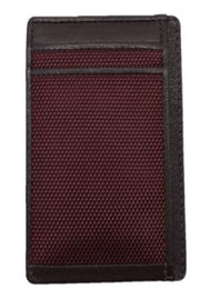 Save the Ocean Recycled Burgundy Front Pocket Wallet