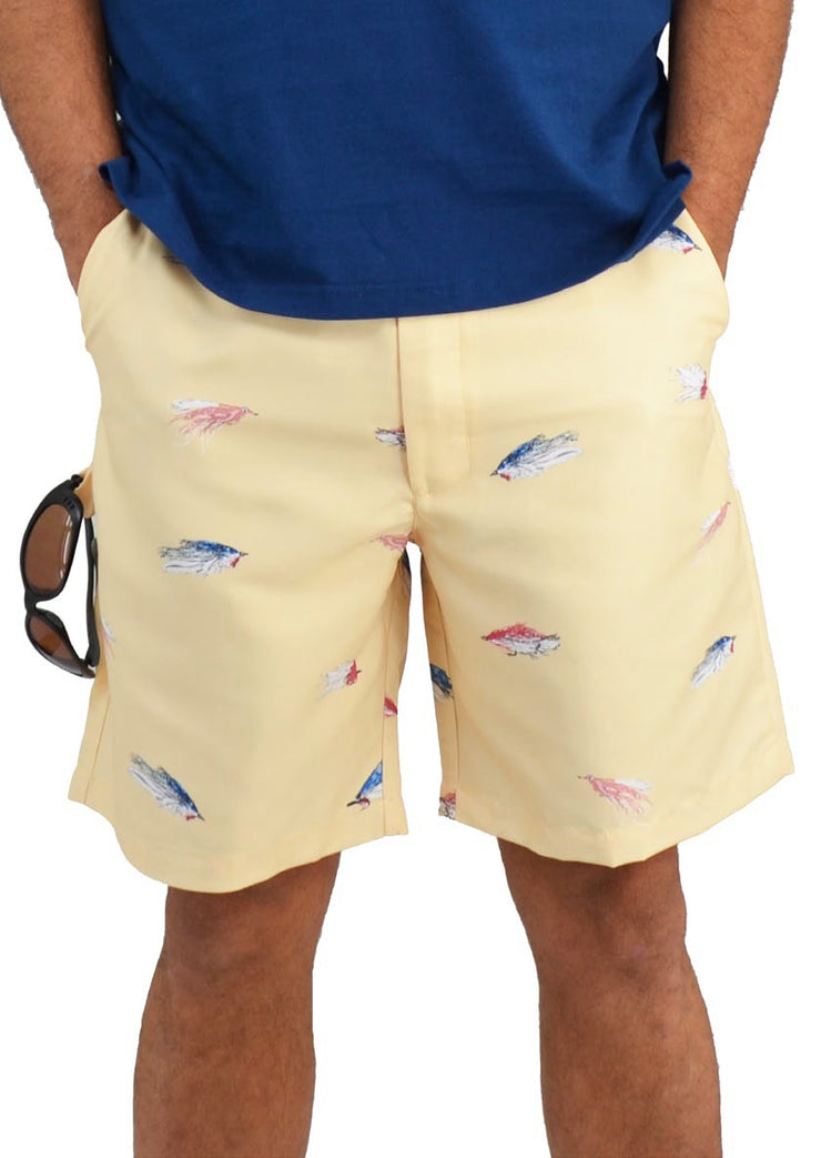 Bermuda Styles Short with allover Fish