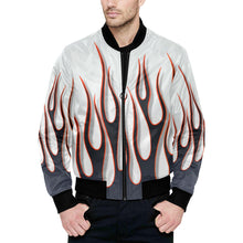 "Load image into Gallery viewer, ""Smokin'"" Bomber Jacket"