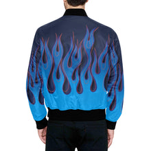 "Load image into Gallery viewer, ""Sea of Flames"" Bomber Jacket"