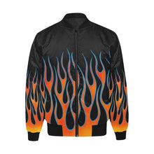 "Load image into Gallery viewer, ""Heat"" Bomber Jacket"
