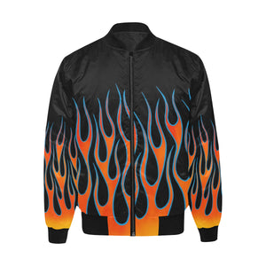 """Heat"" Bomber Jacket"