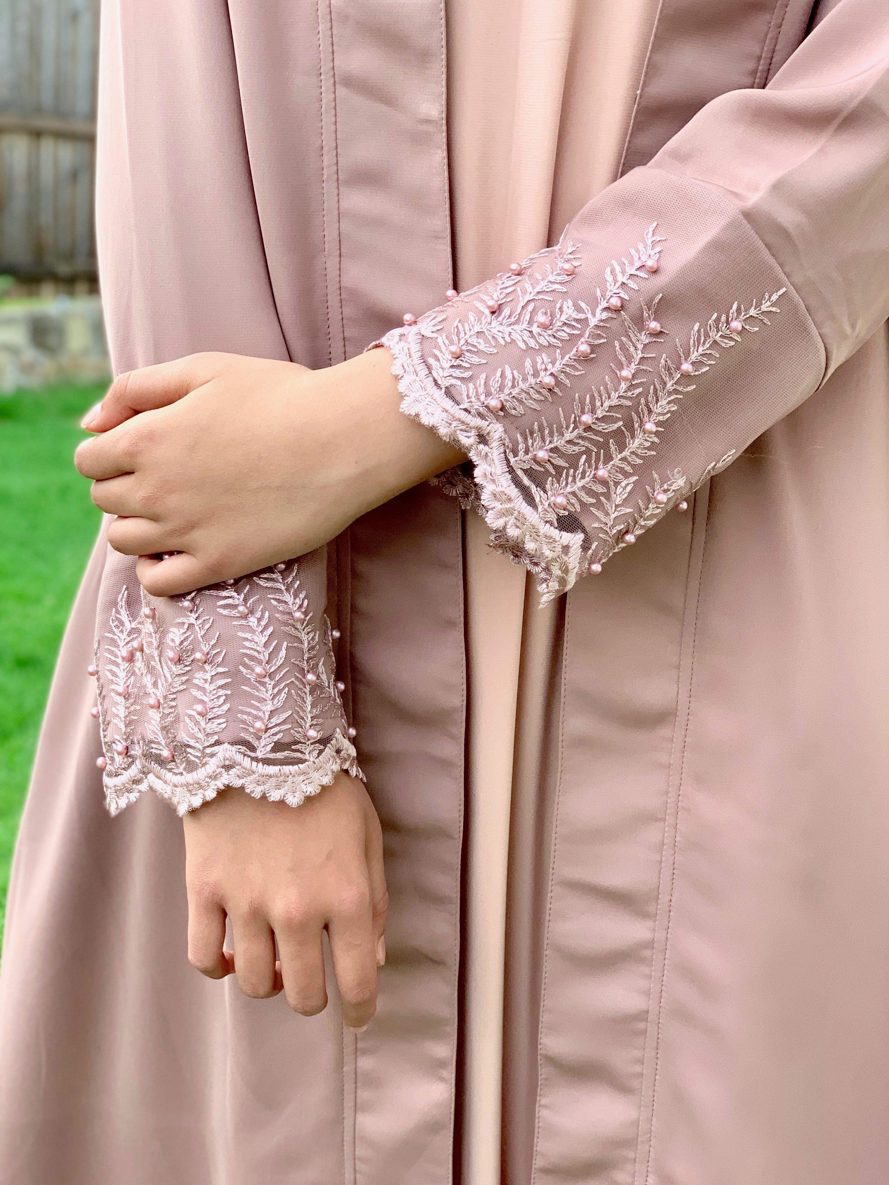Mauve Long Jacket