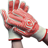 Grill Armour Gloves -Red Small Size (Ladies Fit)