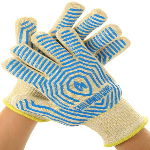 Grill Armour Gloves -Blue