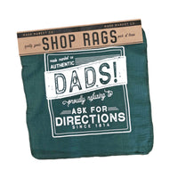 Shop Rags Dads! Proudly refusing to Ask For Directions Since 1814