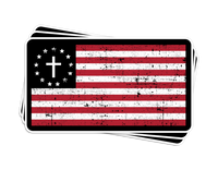 One Nation Under God Decal
