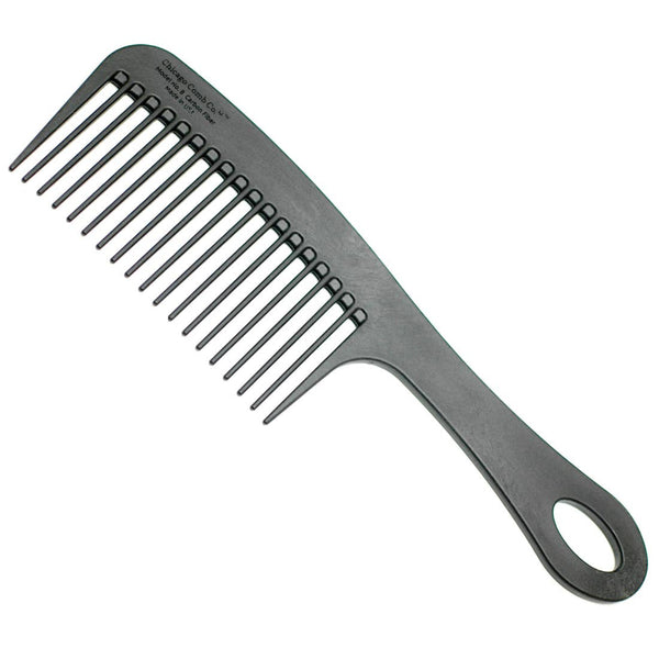 Chicago Comb Co. Model No. 8 Carbon Fiber Comb