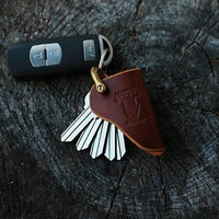 American Bench Craft Leather Key Holster - Pick Your Color