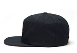 The Ampal Creative Extinct II Black Strap Back Hat