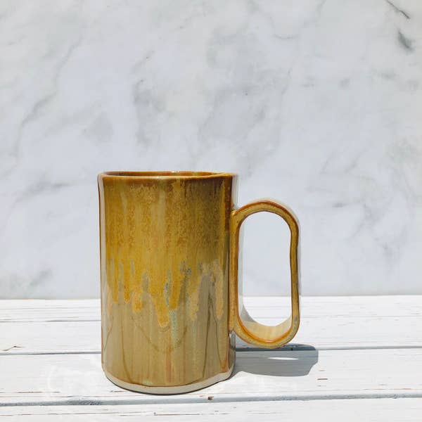 Bay Pottery Amber Large Bay Mug 16oz
