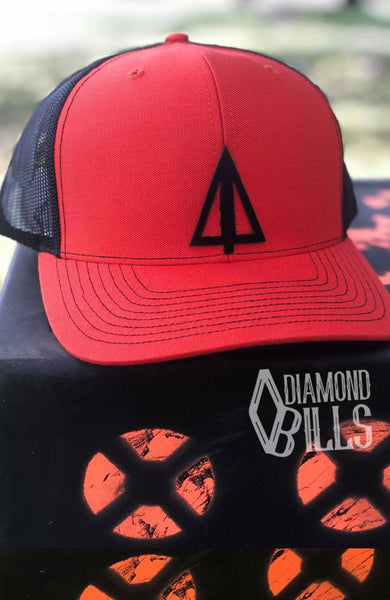 Diamond Bills Cutter Orange Hat