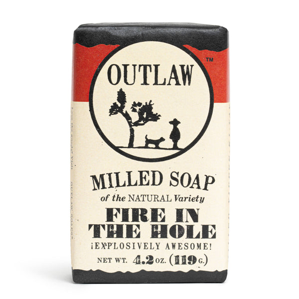 OUTLAW Fire in the Hole Milled Soap