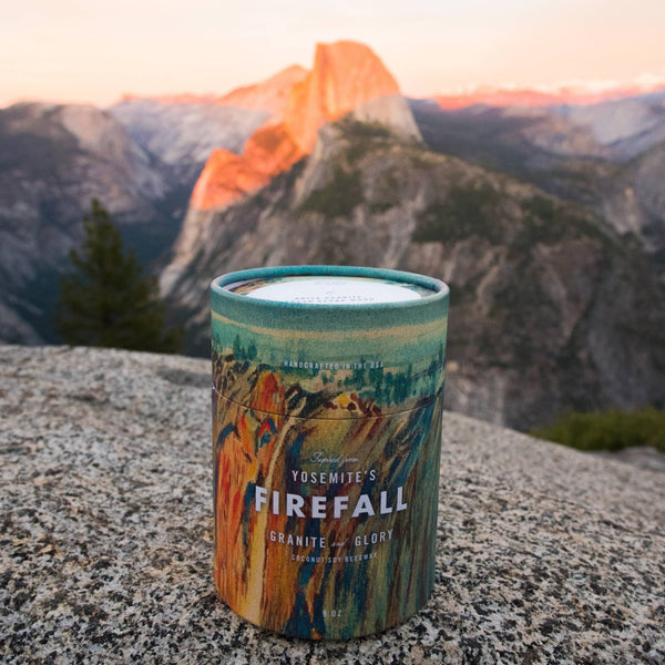 Ethics Supply Co • Yosemite National Park's Firefall Candle 11oz