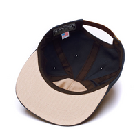 The Ampal Creative Gone Fishin Pennant Navy Strap Back Hat