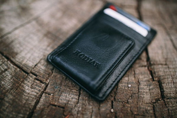 KODIAK LEATHER Money Clip [BLACK]