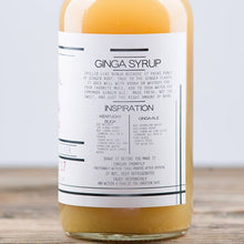 Load image into Gallery viewer, Iconic Cocktail Ginga Syrup 2oz Organic Mixer