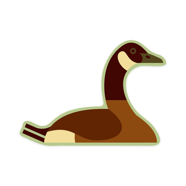 Canadian Goose Geometric Sticker