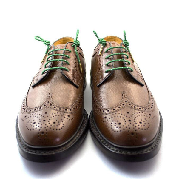 Stolen Riches Dress Laces Hollins Green (Green/White Polkadot)