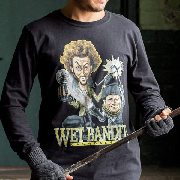 RSVLTS The Wet Bandits Long Sleeve Tee Size L & 2X