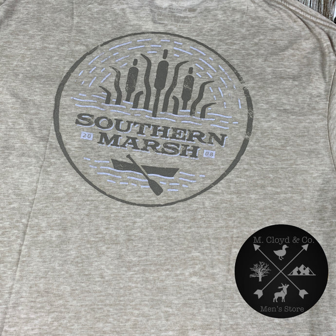 Southern Marsh Seawash Burnt Taupe Ducks Tee Size L, XL
