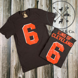 Bake King of Cleveland Tee Size XS-3XL