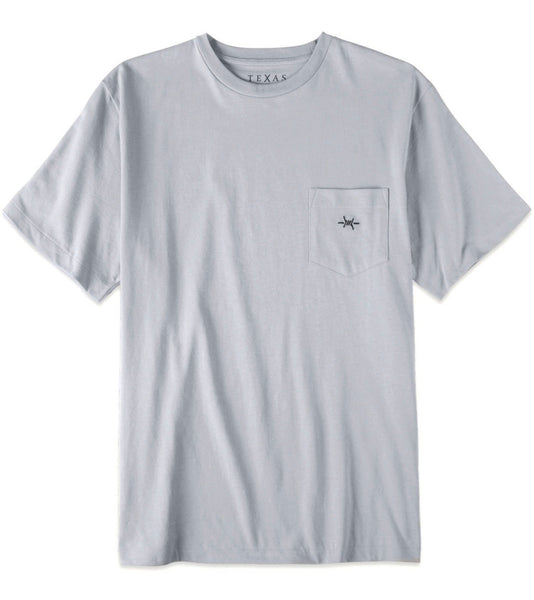 TEXAS STANDARD Pocket Tee [MOCKINGBIRD] Size XL & 3X