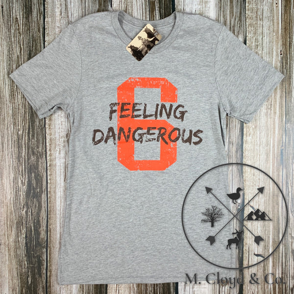 Bake Feeling Dangerous 6 Tee Size L