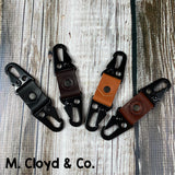 American Bench Craft Dual Snap Key Fob - Pick Your Color