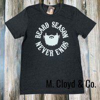 [50% off] Beard Season Never Ends Tee Size L left