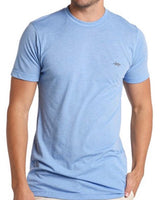 TEXAS STANDARD Performance Hybrid Tee [HEATHER LIGHT BLUE] Size M