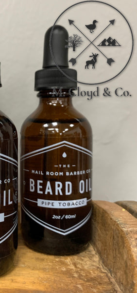 The Mailroom Barber Co. • Pipe Tobacco • Beard Oil