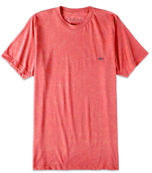 TEXAS STANDARD Performance Hybrid Tee [HEATHER RED] Size L, XL, 2X