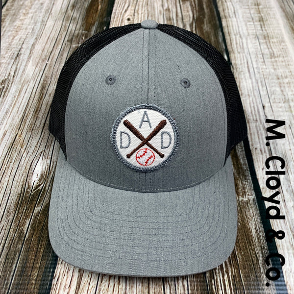 Baseball Sports Dad Snap Back Hat