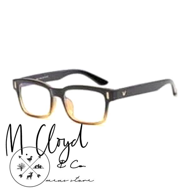 Mens Blue Light Blocking Glasses [Refined Black & Yellow]