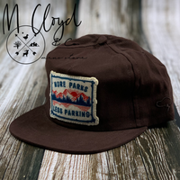 The Ampal Creative More Parks III Brown Twill Strap Back Hat