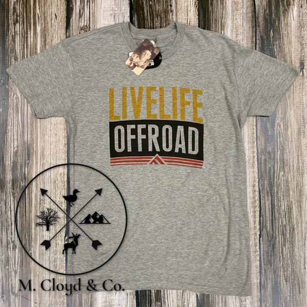 [50% off] Live Life Offroad Tee Size M, L, 2X