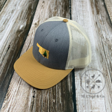 Oklahoma Pine in State Snap Back Hat